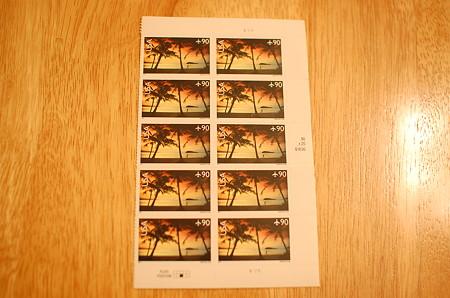 90セント切手