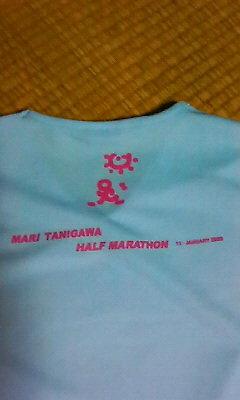 谷川真理ハーフマラソンT シャツ1