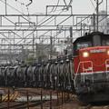 Photos: 四日市港線から冨田へ向うセメント列車んを撮影
