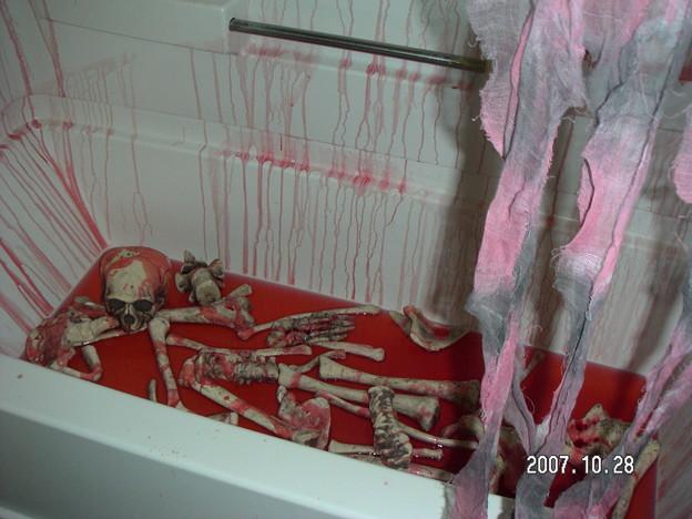 Photos: Blood bath
