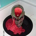 Photos: skull with blood