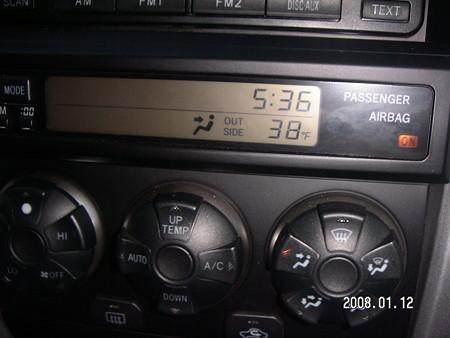 38Fは3℃!!
