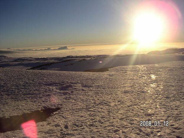 Photos: 雪山最高!!