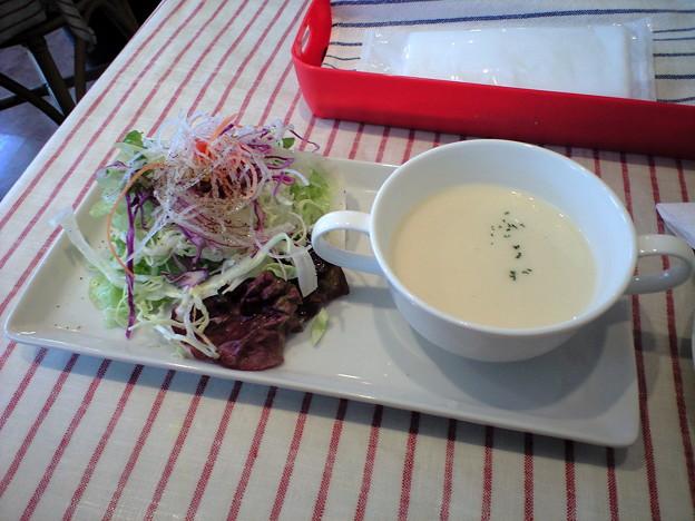 116「ビストロ・ド・スズキ」サラダ&スープ