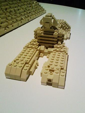 080829-レゴ展 ピラミッド (2)