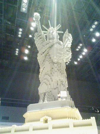 080829-レゴ展 自由の女神 (2)