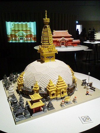 080829-レゴ展 カトマンズの寺院 (1)
