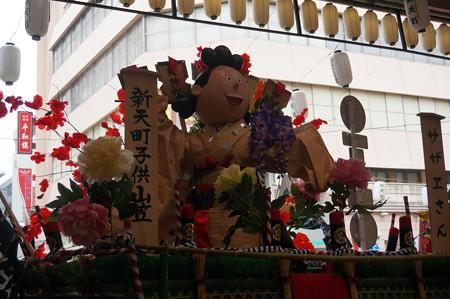 15 2014年 博多祇園山笠 子供山笠 サザエさん 新天町 (3)