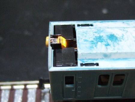 導光部分の加工