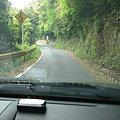 写真: 岩尾の滝への道
