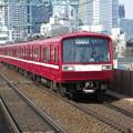 三扉化改造車2000系(2400系)@京浜急行電鉄本線新馬場駅