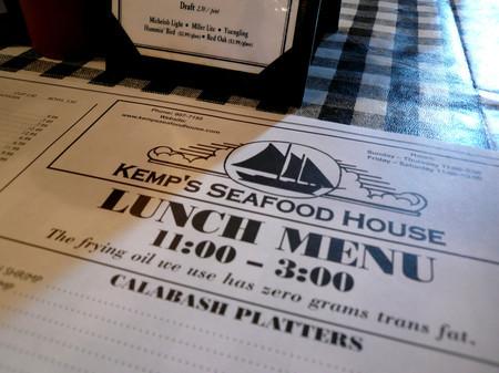 KEMP'S SEAFOOD HOUSE
