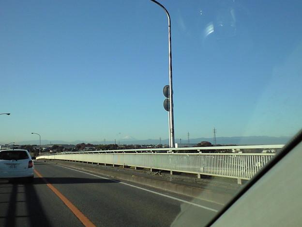通勤途中 今シーズン初めての富士山