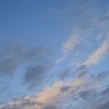 北の空は青かった