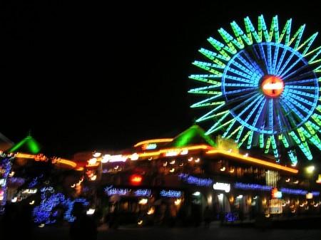 沖縄 北谷 夜景