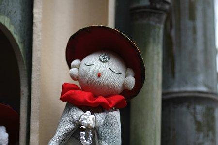 2009.03.01 瀬谷 川口夏江さん宅 お地蔵さんの雛人形