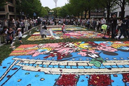2009.05.03 日本大通りフラワーアートフェスティバル
