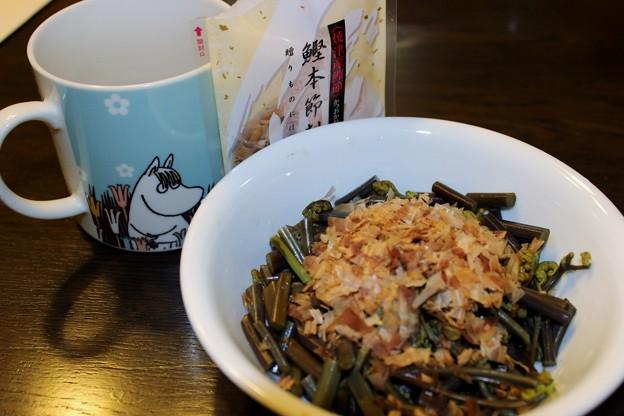 Photos: シンプルに食べる・・・