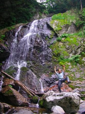 口ノ深谷大滝 2005年6月の様子