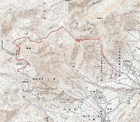 20080309白馬鵯峰(ひよどりみね)周辺山スキー