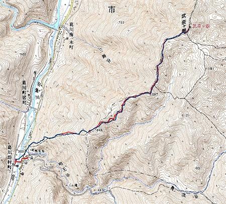 20080429武奈ヶ岳ハイキング
