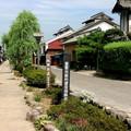 古い宿場町や城下町の風景