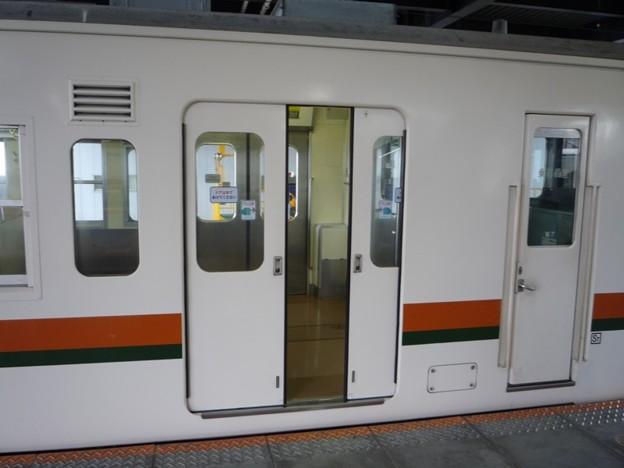 写真: JR飯田線119系のドア