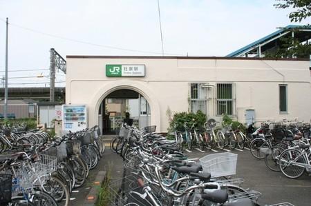 相模線・社家駅の駅舎