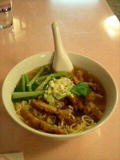 中華街で食べた