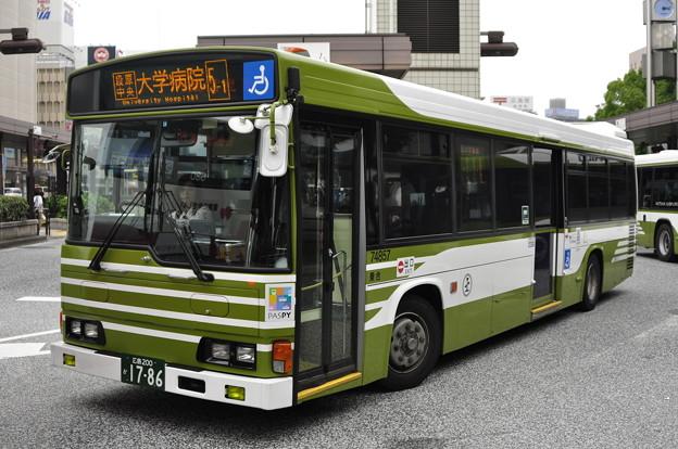広島200か17-86 広島電鉄74857号車