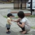 Photos: 親子の会話