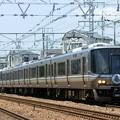 Photos: 223系 神戸―大阪開業140周年HM付