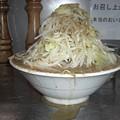 写真: ラーメン600円、味玉70円、節粉50円、野菜
