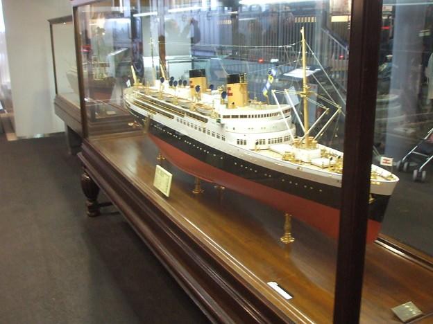 [Heritage] S.S. Kongou Maru, Tsushima straight ferry (miniature)