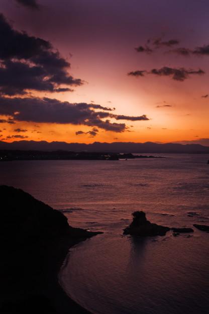 朝の太平洋