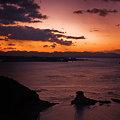 写真: 朝の太平洋