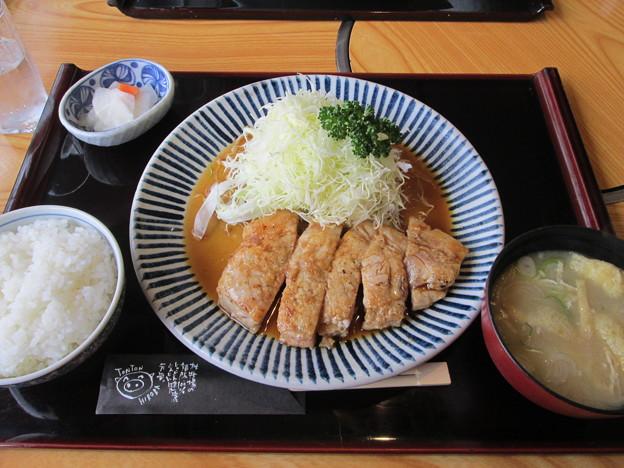 Photos: しょうが焼きステーキ