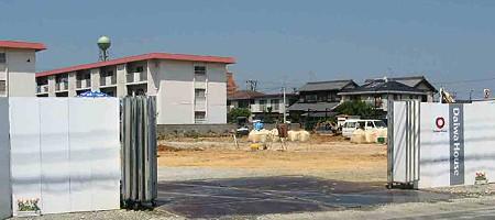 フィール豊橋曙店(仮称) この秋開店予定で基礎工事中-200730-1