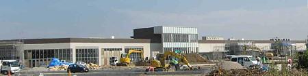 イオンモール草津 B棟 2008年冬 開業予定で建設中-2000923-5