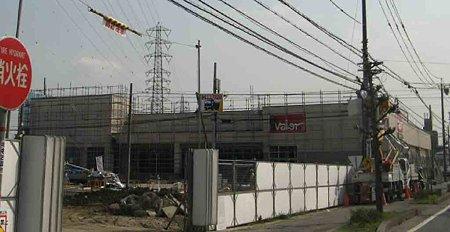 バロー北名古屋店(仮称) 平成21年4月20日 オープン予定で外観完成-210320-1