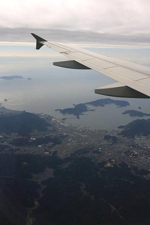 山口県下松市上空