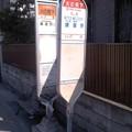 Photos: 火の見下バス停(4月15日、鎌倉市常盤)