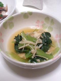 Photos: 小松菜の煮浸し(5月26日)
