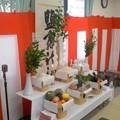 塩釜神社の祭壇(7月6日、富士見町町内会)