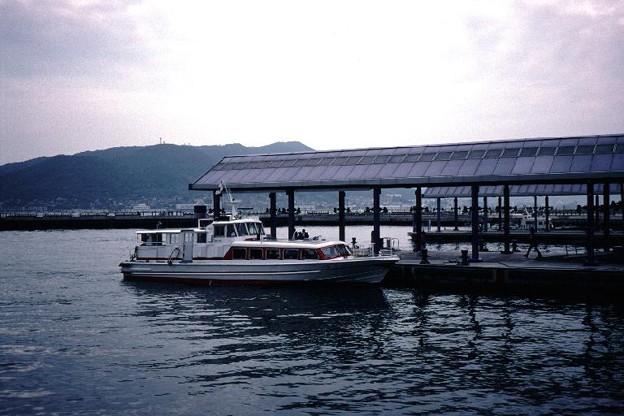 関門汽船(唐戸(下関市),渡船:唐戸─門司港,1998/9/27)(s107-21)