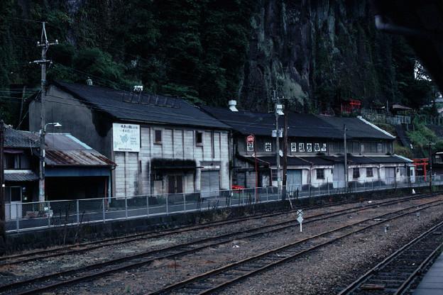 消防分団ポンプ格納庫,倉庫(JR豊肥本線豊後竹田駅,1998/9/28)(s108/4)