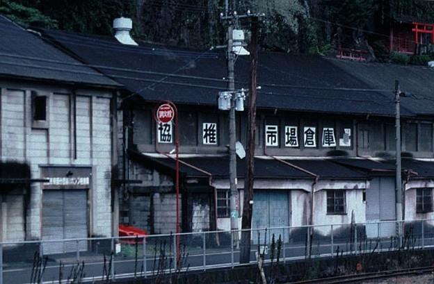 農業倉庫?(JR豊肥本線豊後竹田駅,1998/9/27)(s108-4b)