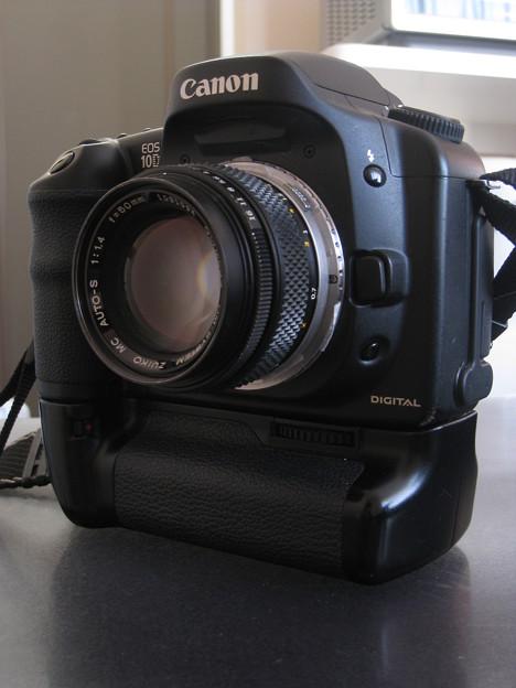 EOS 10D + ZUIKO 50mm F1.4
