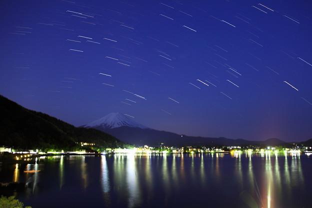星降る夜 富士山