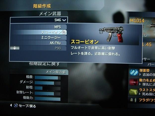 SMG-スコーピオン